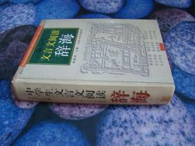 中国文言文阅读辞海