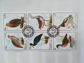 外国小版张   鸟类    孔网孤本