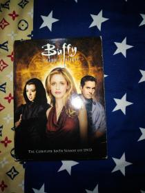 绝版美国电视剧连续剧Buffy the vampire slayer吸血鬼猎人巴菲第六季dvd光盘碟片6碟,高清晰D9精装,有区码锁