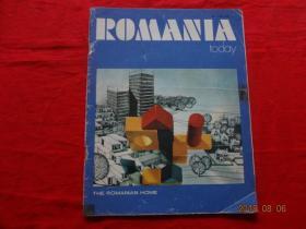 (罗马尼亚画报)ROMANIA 1975年第9期 总第250期(小8开外文原版画报,不缺页)