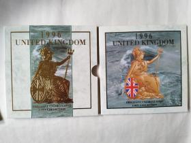 1996年英国主办第十届欧洲杯足球赛特别铸造纪念币一套(包邮)