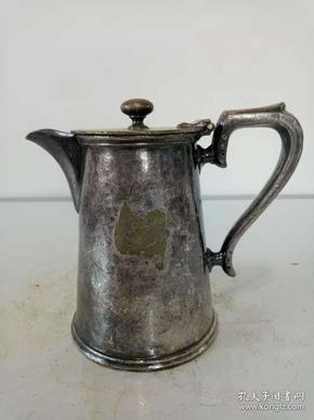 纯铜鎏银壶·国外回流铜壶·咖啡壶·水壶·稀少【包老保真】重量334克·实物拍照·详情见图.