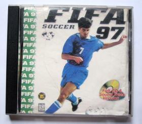 【老游戏】FIFA97(1CD)详见图片