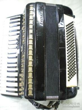 百乐牌BAILE120贝司手风琴 品如图 仅此一只