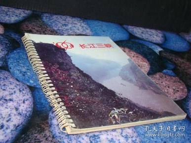 长江三峡 1996年记事年历 活页铁环装 空白无字迹
