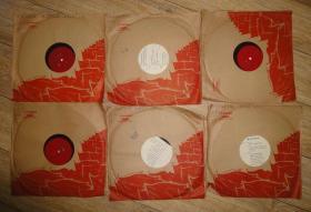 《革命现代京剧红灯记》黑胶唱片6张12面全带袋和唱词