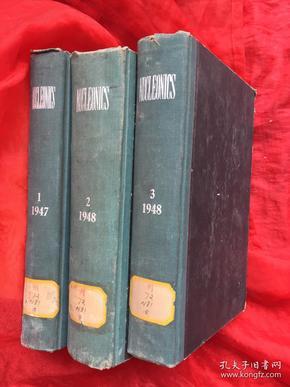 NUCLEONICS 1948 3 核子学月刊(1948年3卷)英文版