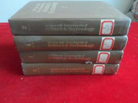 MCGraw Hill Encyclopedia of Science Technology' 1-4册【麦克格雷希尔科技百科全书&  1--4】