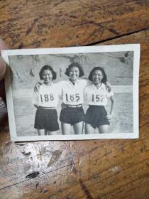 民国时期――女运动员合影照片