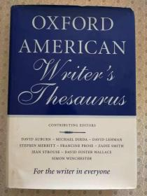 Oxford American Writers Thesaurus  英文原版