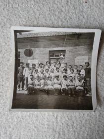 黑白老照片(集体照)