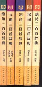 中华古诗词宝典(全5册)唐诗、宋词、宋诗、元曲、绝句三百首辞典