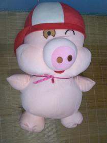毛绒玩具  抱抱猪  全新未用过(2000年后)