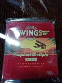 WlNGS漂亮的外国烟盒(八九十年代铁盒烟)
