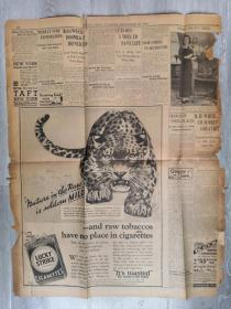 BSTON POST 波士顿邮报 9.20 1932年印 包邮挂刷