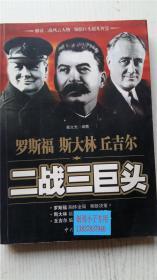 二战三巨头 戴文光 编著 中共党史出版社 9787801992635