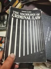 THE SOCIOLOGY OF CRIMINAL LAW  私藏