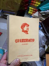 毛泽东思想胜利万岁(英汉对照)  差不多九品       新FF2