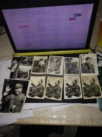 毛主席照片35枚(尺寸大小不一)下单前看书影及描述