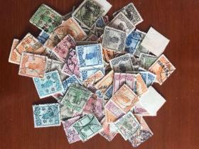 民国帆船邮票140张