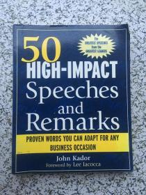 50 High-Impact Speeches and Remarks: Proven Words You Can Adapt for Any Business Occasion