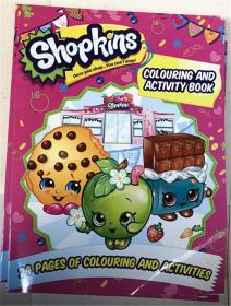 Shopkins Colouring and Activity Book  着色和活动书