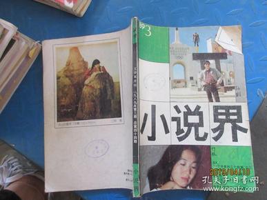 小说界  1989  3
