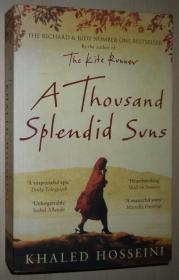 英文原版书 A Thousand Splendid Suns 平装 Paperback – 2008 by Khaled Hosseini  (Author)