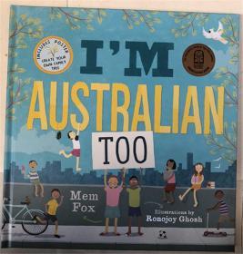 精装 I'm Australian Too + Poster  我是澳大利亚人+海报