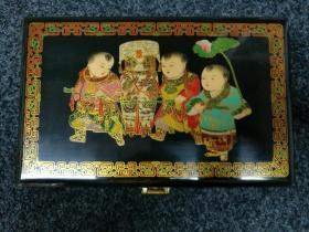 雕漆首饰盒