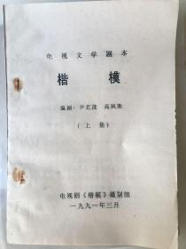 电视文学剧本:楷模上下集