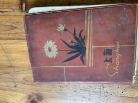 3172:武重年藏书:《上海》笔记簿,内记录有手写地址人名电话