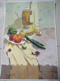水粉画第八幅作品