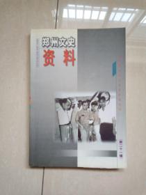郑州文史资料第二十一辑