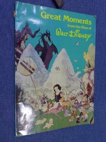 Great Moments From The Films Of Walt Disney, Vol. 1 (1981年出版的迪士尼珍藏版画册)