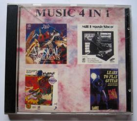 【外国音乐光盘】MUSIC4IN1音乐4合1(1CD)详见图片