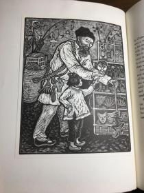 【限量200冊】【25幅原版版畫】1993年《京都叫賣圖》Calls, Sounds, and Merchandise of the Peking Street Peddler /收錄著名版畫家Rosemary Covey25幅版畫