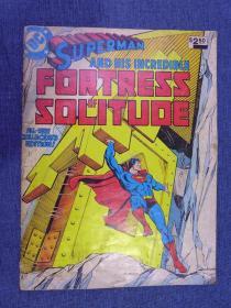 1981 Superman and His Incredible Fortress of Solitude Treasury Edition No. 26 超人原版漫画