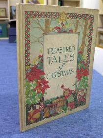Treasured Tales of Christmas *compiled by Current, Deborah Apy, HC, 1980《珍藏的圣诞故事》精装本彩色插图本 非常精美