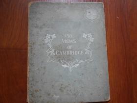 英語原版大16開精裝本《150VIEWS OF CAMBRIDGE》150幅劍橋景色