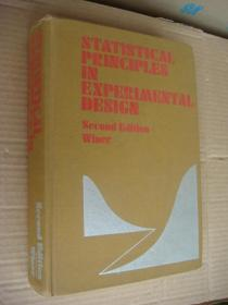 Statistical Principles In Experimental Design  英文原版 布面精装 16开 907页。非常重