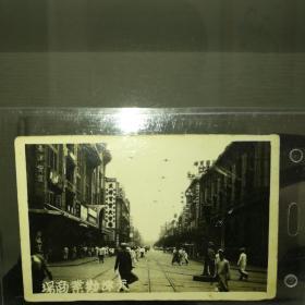 民国早期天津劝业商场街景照片