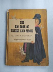 老版本魔术书 THE BIG BOOK  OF TRICKS AND MAGIC 一本关于戏法和魔法的书