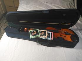 红艺牌4分之4成人小提琴