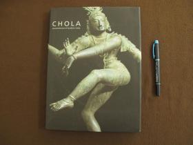 【Chola : sacred bronzes of southern india】印度南部的神圣青铜器_精装本含书衣