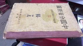 中国分省新图 申报六十周年纪念