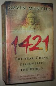 英文原版书 1421 : The Year China Discovered the World 平装本 正版 Paperback – 2003 by Gavin Menzies  (Author)