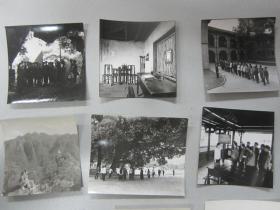 1977年摄影家朱涛在井冈山和南昌地区拍摄的照片24张。附两页拍摄背景说明