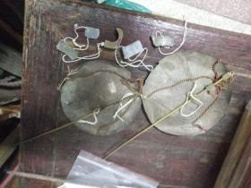 潮汕老厘称,铜,两条,赠送四个小坠,常用于称药