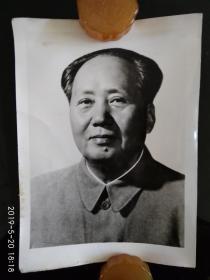毛主席照片 主席像 黑白老张片